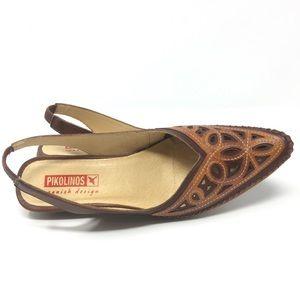 Intricate Pikolinos Slingback Close Toed Sandal